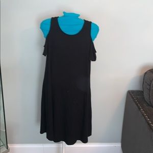 Cut out shoulders dress size S by Pink Rose